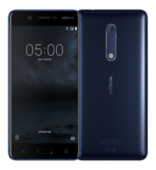 NOKIA 5 16GB 4G LTE DUAL SIM,  tempered blue