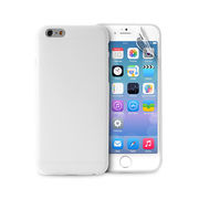 """PURO IPHONE 6 4.7"""" ULTRA-SLIM"""" 0.3"""" COVER WITH SCREEN PROTECTOR INCLUDED,  transparent"""