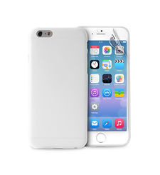 "PURO IPHONE 6 4.7"" ULTRA-SLIM"" 0.3"" COVER WITH SCREEN PROTECTOR INCLUDED,  transparent"