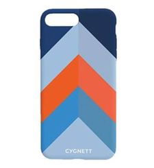 CYGNETT IPHONE 8 CHEVRON STRIPE CASE,  blue