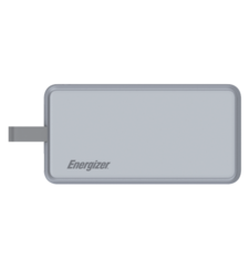 ENERGIZER POWER BANK 8000MAH TYPE C UE8002CQ,  grey