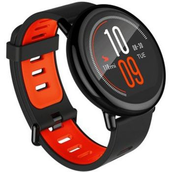 XIAOMI SMART WATCH SILICONE BAND FOR ANDROID & IOS AMAZFIT,  black