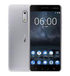 NOKIA 6 4G LTE DUAL SIM,  silver, 32gb