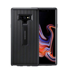 SAMSUNG GALAXY NOTE 9 PROTECTIVE STAND COVER CASE,  black