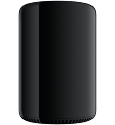 APPLE MAC PRO MD878 (INTEL XEON E5, 3.5 GHZ 6 CORE, OS X MAVERICKS 10.9, 256 GB, BLACK)