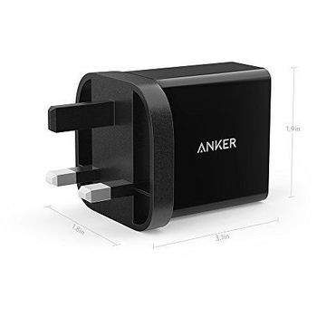 ANKER POWERPORT PLUS 1 MICRO USB CABLE QC3 3FT
