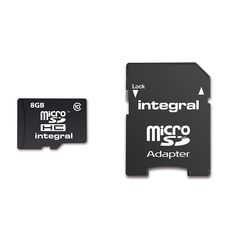 INTEGRAL MICROSDHC 8GB CLASS 10