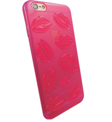 MYCANDY IPHONE 7 / IPHONE 8 BACK CASE LIPSTICK SHOCK PINK