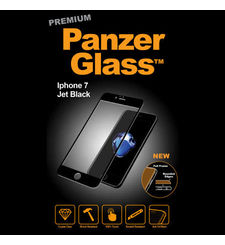 PANZER GLASS TEMPERED GLASS IPHONE 7 / IPHONE 8,  black