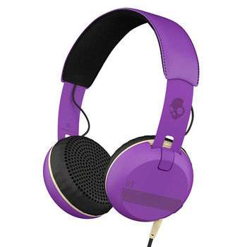 SKULLCANDY STEREO HEADPHONE GRIND,  purple