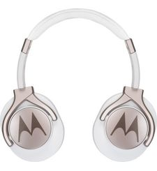 MOTOROLA PULSE STEREO MAX HEADPHONES,  white