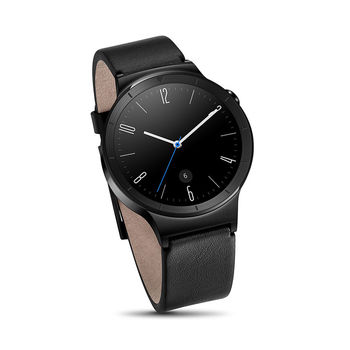 HUAWEI W1 SMARTWATCH BLACK EDITION LEATHER,  black