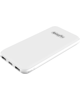 MYCANDY POWER BANK 10000MAH PB13,  white