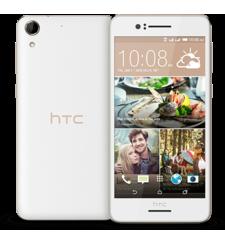 اتش تي سي ديزاير 728 ثنائي الشريحة 4G LTE,  أبيض