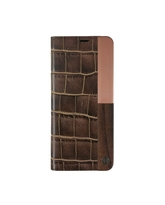 UUNIQUE GALAXY S8 BOOK TYPE CASE BROWN