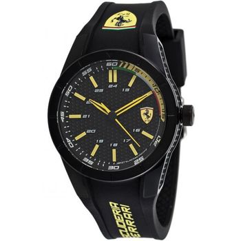 FERRARI WATCH 830302,  black