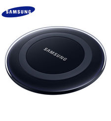 SAMSUNG GALAXY WIRELESS CHARGER,  أسود