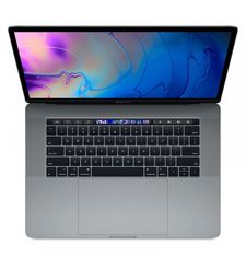 APPLE MACBOOK PRO 2018 I7 8TH GEN 2.6 6CORE 16GB 512GB RADEON PRO 560X WITH 4GB TB & ID RETINA DISPLAY WITH TT 15 INCHES- ENGLISH,  space gray
