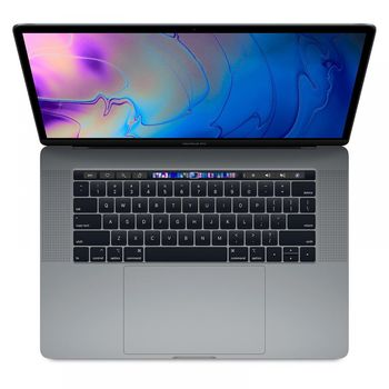 APPLE MACBOOK PRO 2018 I7 8TH GEN 2.6 6CORE 16GB 512GB RADEON PRO 560X WITH 4GB TB & ID RETINA DISPLAY WITH TT 15 INCHES- ENGLISH,  silver