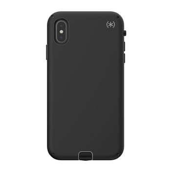 SPECK IPHONE XS MAX BACK CASE PRESIDIO SPORT BLACK