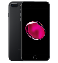 APPLE IPHONE 7 PLUS 4G LTE,  black, 128gb