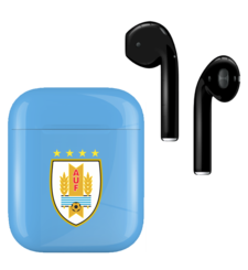 APPLE AIRPODS FIFA EDITION,  uruguay, gloss