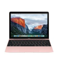 APPLE MACBOOK MMGM2 1.2 DUAL CORE M5 12 INCH 8GB 512GB INTEL HD GRAPHICS 515 RETINA ENGLISH ROSE GOLD