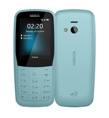 NOKIA 220 2019 24MB 4G DUAL SIM,  blue