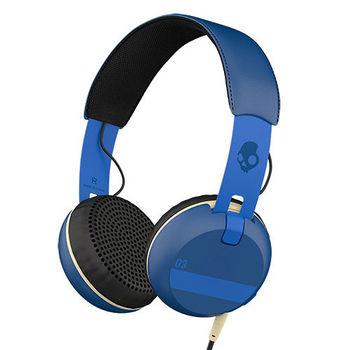 SKULLCANDY STEREO HEADPHONE GRIND,  royal blue