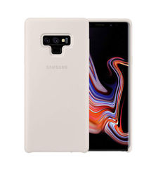 SAMSUNG GALAXY NOTE 9 SILICONE COVER CASE,  ivory