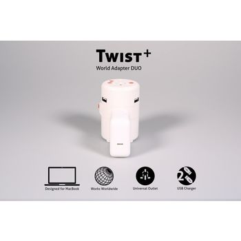 ONE ADAPTR ADAPTER WORLD TWIST PLUS