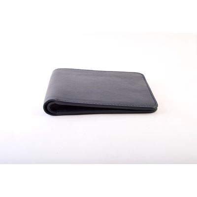 NIGHT BLUE WALLET, leather, navy blue