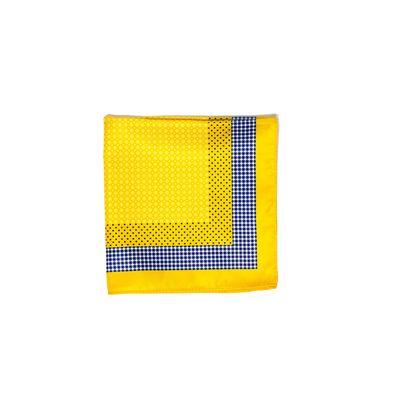 Yellow Dunes, yellow, silk