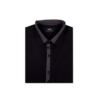 Grey Desire, l, premium cotton, black / grey print