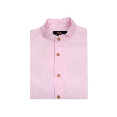 The Dutchman: Pink, m, cotton linen, pink