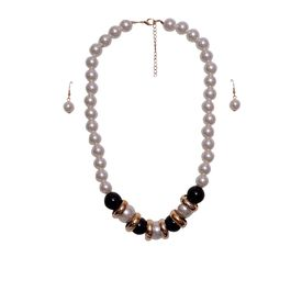Pink Rose - Pearl magic necklace set