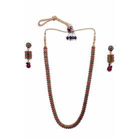 Pink Rose - Diva necklace set
