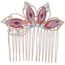 Pink Rose - Complement Collection Multicolour Alloy Princess Delight Hair Clip For Women