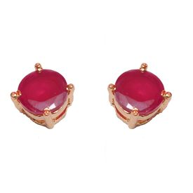 Pink Rose - Elegant studs