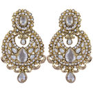 Pink Rose - Complement Collection Gold White Pearl Alloy Passion Drops For Women