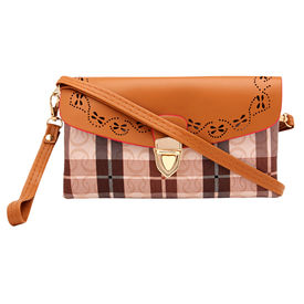 Pink Rose - Cool Collection Brown Charm Sling Bag