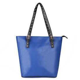 Pink Rose - Elegant Collection Blue Charm Handbag