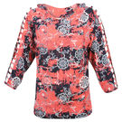 Pink Rose Women Multicolour Top, m, cotton, multicolor