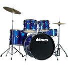 DDRUM D2 Drum Set 5pc - Police Blue