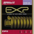 D'Addario EXP13 Acoustic Guitar Strings 80/20 Bronze. 011-. 052 Set