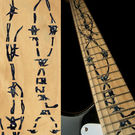 Barbed Wire (BP) Fret Markers Inlay Sticker For Guitar