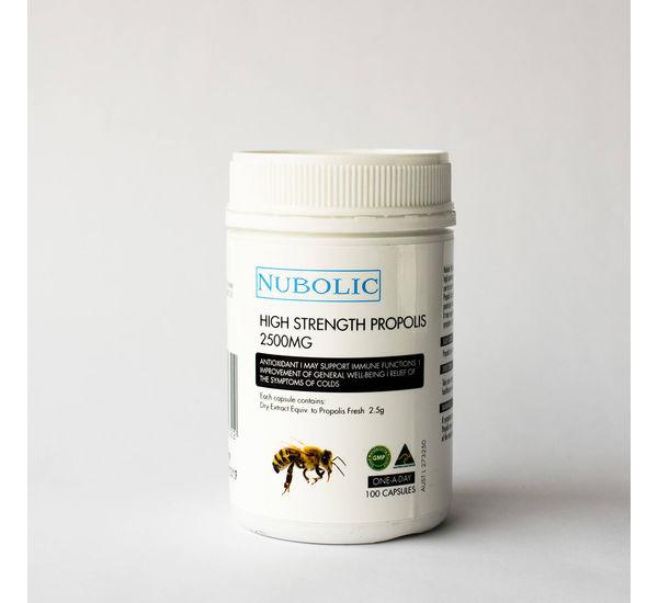 Propolis Capsule, 2500 mg