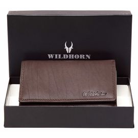 WildHorn Emma RFID PROTECTED Genuine Leather Wallet for Women stylish| Purse for Women/Girls