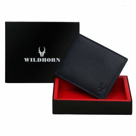WILDHORN NEW BROWN HIGH QUALITY GENUINE MEN' S LEATHER WALLET… 450