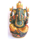 Ganesha Semi - Precious Green Stone, 2403 grams, 8 inches